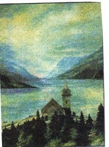 Parlor Car: Church at Lake Bennett
